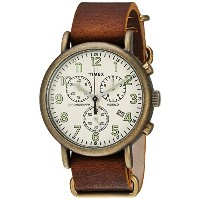 Timex Weekender Chrono Brown TW2P85300