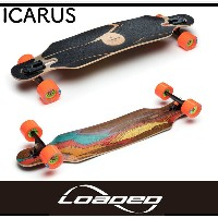 LOADED BOARDS ローデッド The ICARUS Kegels & Nipples [Flex 2] イカロス 80mm Lsk8 デッキ コンプリート ロンスケ ロングスケートボード...