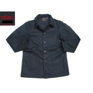 【期間限定30%OFF!】VETRA(ベトラ)/#2067 MEN'S MELTON COVERALL MADE IN FRANCE/marine