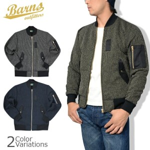 BARNS OUT FITTERS(バーンズ アウトフィッターズ) Beach Cloth MA-1 JACKET ビーチクロス エムエーワン ジャケット BR-6487