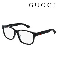 【GUCCI】 グッチ メガネ 正規販売店 アレッサンドロ・ミケーレデザイン GG0011OA 001 伊達メガネ 度付き 眼鏡 DEAL RUBBERIZED WEB FRAME Made In...