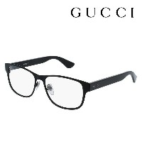 【GUCCI】 グッチ メガネ 正規販売店 アレッサンドロ・ミケーレデザイン GG0007O 001 伊達メガネ 度付き 眼鏡 DEAL POP WEB Made In Italy DEAL...