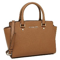 マイケルコース バッグ レディース MICHAEL KORS30S3GLMS2L 230 SELMA MD TZ SATCHEL SAFFIANO LEATHER ショルダーバッグ LUGGAGE ...