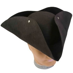 Deluxe Pirate Hat Adult デラックス海賊帽子大人用♪ハロウィン♪サイズ:One-Size