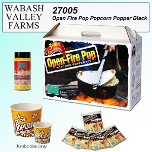 Open Fire Pop Popcorn Popper [並行輸入品]