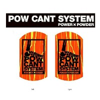★『POW CANT SYSTEM/パウカント システム』【CANT PLATE/カントプレート】カラー:ORANGE MARBLE/BLACK★メール便配送致します※代引き・宅急便選択の方は通常配送...
