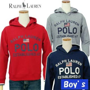 POLO by Ralph Lauren Boy'sUSA、POLOロゴパーカー【ラルフローレン ボーイズ】