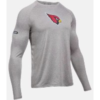Under Armour NFL Combine Authentic UA Arizona Cardinals Logo Long Sleeve Shirt メンズ ロンT Tシャツ...