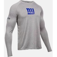 Under Armour NFL Combine Authentic New York Giants Logo Long Sleeve Shirt メンズ Tシャツ ロンT アンダーアーマー...