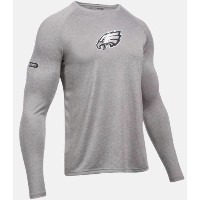 Under Armour NFL Combine Authentic UA Philadelphia Eagles Logo Long Sleeve Shirt メンズ ロンT Tシャツ...