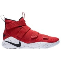 (取寄)Nike ナイキ メンズ レブロン ソルジャー 11 Nike Men's LeBron Soldier 11 University Red White Black