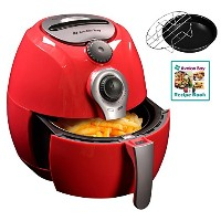Avalon Bay AB-Airfryer100R Airfryer in Red by Avalon Bay