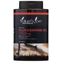 【Nature's Care】Glucosamine HCL グルコサミンHCL 1000mg 180カプセル入