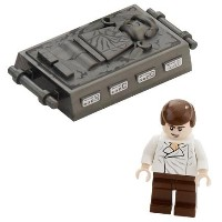 LEGO レゴ スターウォーズ ハン・ソロ ミニフィギュア カーボンプレート Han Solo and Carbonite (Return Of The Jedi) - LEGO Star Wars...