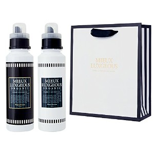 MIEUX LUXGEOUS R HOME CLEANING BLACK LABEL & FABRIC SOFTENER BLACK LABELセット with PAPERBAG02