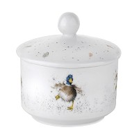 Wrendale by Royal Worcester Duck Sugar Pot by Wrendale by Royal Worcester