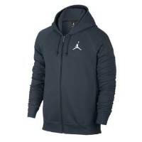 Jordan Flight Fleece Full Zip Hoodie メンズ Armory Navy/White パーカー ジョーダン NIKE ナイキ