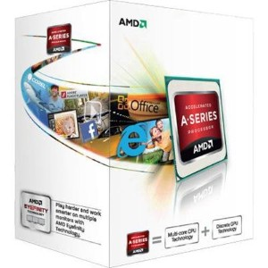 AMD A-Series A4 5300 ソケットFM2 TDP 65W 3.4GHz×2 GPU HD7480D  AD5300OKHJBOX