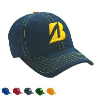 Bridgestone Contrast Stitch Team Color Caps【ゴルフ ゴルフウェア>帽子】