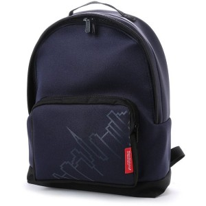 マンハッタンポーテージ Manhattan Portage Neoprene Fabric Big Apple Backpack JR (Navy) レディース メンズ