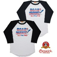 "CHESWICK/チェスウィック ROAD RUNNER/ロードランナー 3/4 LENGTH SLEEVE BASEBALL T-SHIRT ""RR IN STARS & STRIPES""..."
