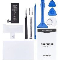 DIGIFORCE バッテリー 交換 PSE 説明書・工具付 for iP 4S