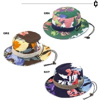 CLEF(クレ)ビーチハット・REV CAMOFLOWER HAT/forg