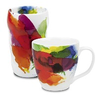 Konitz on Color Mugs, Set of 2 by Konitz