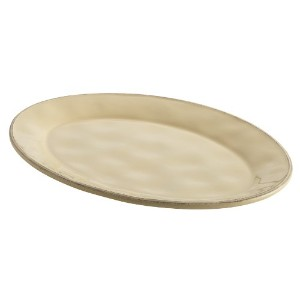 Rachael Ray Cucina Dinnerware 10-inch X 14インチStoneware Oval Platter 10 x 14-in Oval Platter オフホワイト...