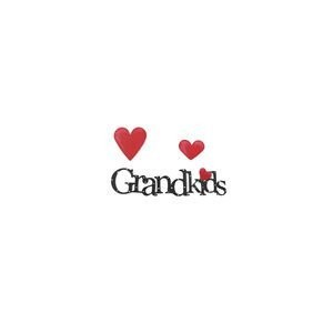 Embellish Your Story Grandkids WordパックMagnets–Set of 3Assorted