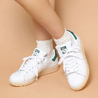 adidas Originals STAN SMITH (アディダス オリジナルス スタンスミス) RUNNING WHITE/RUNNING WHITE/COLLEGIATE GREEN【メンズ...