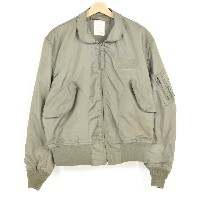 80年代納品 米軍実品 JACKET FLYER'S MEN'S SUMMER FIRE RESISTANT CWU-36/P初期型 U.S.AIR FORCE SCOVILLジップ ミリタリー...