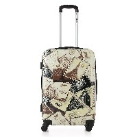 TOMSHOO Fashion 3PCS Luggage Set Carry-on Suitcase PC + ABS Trolley 20/24/28 Hard Shell Combination