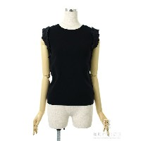 FOXEY BOUTIQUE フォクシー トップス ノースリーブ 37062 Knit Top【38】【Aランク】【中古】tn290917t