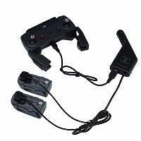 BTG 3in1(電池 &リモコン 送信機 ) 速い車の充電器 出力: 13.05/2.2A2 + USB:5V/2A for DJI Spark ドローン Quadcopter