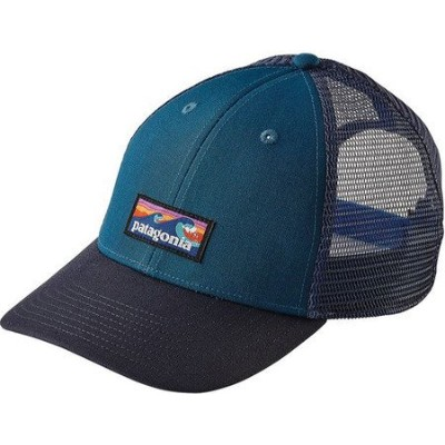 (パタゴニア)patagonia Board Short Label LoPro Trucker Hat 38179 Big Sur Blue (BSRB) ALL