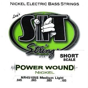 SIT STRINGS エレキベース弦 POWER WOUND ショートスケール 045-105 ニッケル NR45105S 【正規輸入品】