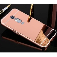 ZTE AXON7 A2017 Mirror ケース, Shiny Awesome Make-up Mirror Plated Aluminum Metal Frame Bumper Slim...