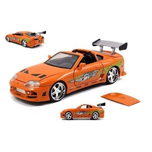 "JadaToys 1:24scale ""FAST & FURIOUS"" ""BRAIAN'S TOYOTA SUPRA""(ORANGE) ジェイダトイズ 1:24スケール 「ワイルドスピード」 ..."