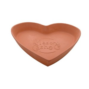 Mason Cash Heart Bread Form, Large, 11-1/2 by 12-1/4 by 2 Inches by Mason Cash