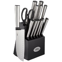 Ginsu Koden 14 piece cutlery set with bonus三徳and Shears、ステンレススチール