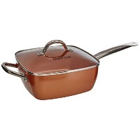Copper Cook Square Pan 4 in 1 set by Copper Cook