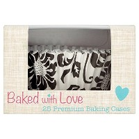 Elegance Foil Lined Cupcake Cases by Baked with Love
