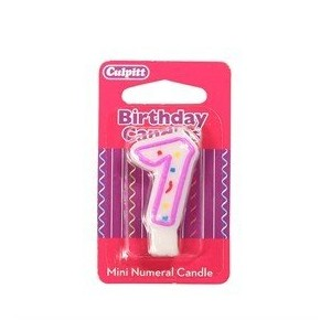 Mini Party Candle '7'