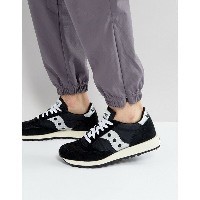 サッカニー メンズ スニーカー シューズ Saucony Jazz Original Vintage Trainers In Black S70368-10 Black