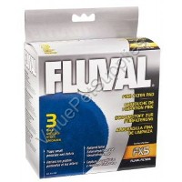 Hagen Fluval Fine Aquarium Water Filter with Polishing Pads for FX5 Model by Hagen