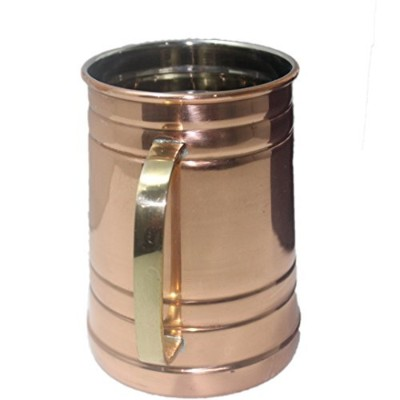 (1, 18Oz-Tankard With Nickel Lining) - STREET CRAFT 100% Authentic Copper Moscow Mule Mug with,...
