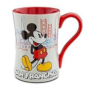 Disney Store San Francisco Mickeyマウスコーヒーマグ