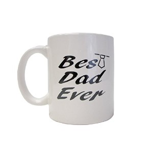 Funny Mug – Best Dad Ever – Unique Present forメンズ&レディース、彼または彼女 – Best Office Cup &誕生日のプレゼント同僚...
