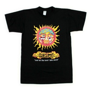 ◎SUBLIME Tシャツ JUST LET THE LOVIN 黒 (サブライム)
